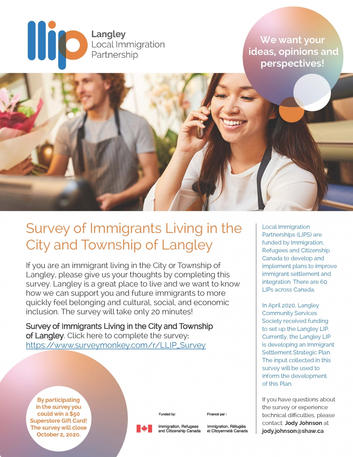 Langley Local Immigration Partnership Survey